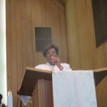 Pastor Moffett on Easter Sunday