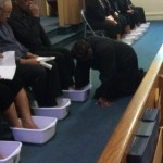 Maundy Thursday Foot Washing